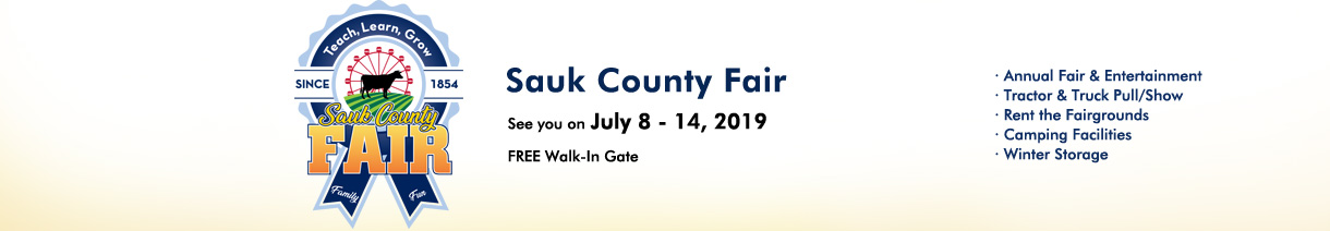 2019 Sauk County Fair